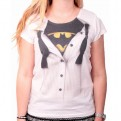 BATMAN - TS004 - TANK TOP DONNA BATMAN SUIT L