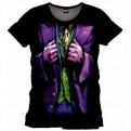 BATMAN - TS007 - T-SHIRT TRICK COSTUME JOKER XL