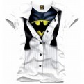 BATMAN - TS044 - T-SHIRT BATMAN SUIT M