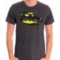 BATMAN - TS050 - T-SHIRT TORN LOGO S