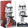 BOBFUN239 - STAR WARS - BOBBLE HEAD FUNKO FORCE CLONE TROOPER 17 CM