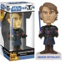 BOBFUN267 - STAR WARS - BOBBLE HEAD FUNKO FORCE CLONE WARS ANAKIN 17 CM