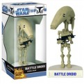 BOBFUN269 - STAR WARS - BOBBLE HEAD FUNKO FORCE CLONE WARS BATTLE DROID 17 CM