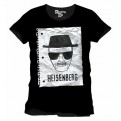 BREAKING BAD - TS003 - T-SHIRT HEISENBERG NOTEBOOK PAGE M