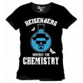 BREAKING BAD - TS004 - T-SHIRT RESPECT THE CHEMISTRY L