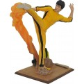 BRUCE LEE GALLERY - BRUCE LEE KICKING - STATUA 25CM