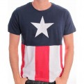 CAPTAIN AMERICA - TS1333 - T-SHIRT COSTUME XL