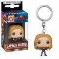 CAPTAIN MARVEL- POP FUNKO VINYL KEYCHAIN CAPTAIN MARVEL 4CM