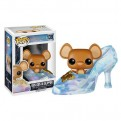 CINDERELLA DISNEY - POP FUNKO VINYL FIGURE 139 GUS GUS IN SLIPPER 9 CM