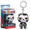 CIVIL WAR - POP FUNKO VINYL KEYCHAIN CROSSBONES 4 CM