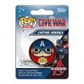 CIVIL WAR POP! PINS - CAPTAIN AMERICA
