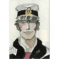 CORTO MALTESE - MAGNETE - WATERCOLOR PORTRAIT