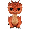 THE HOBBIT BATTLE OF FIVE ARMIES - POP FUNKO VINYL FIGURE 124 SMAUG 15 CM