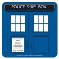 CST1DW07 - DOCTOR WHO - COASTER SINGLE - DOCTOR WHO (TARDIS)