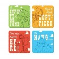 CST4DC04 - DISNEY CLASSIC  - COASTER SET OF 4  - TOY STORY (CHARACTERS)