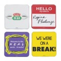 CST4FDS01 - FRIENDS - COASTER SET OF 4 - FRIENDS (QUOTES)