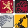 CST4GT01 - GAME OF THRONES - COASTERS SET OF 4 - GAME OF THRONES