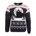 DC COMICS - KNITTED JUMPER - BATMAN KEEPING YOU WARM XXL