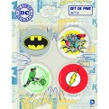 DC COMICS - SPILLE - 4 PACK SET B