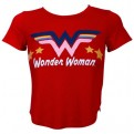 DC COMICS - WONDER WOMAN - T-SHIRT GIRLS RED TEE S