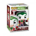 DC COMICS: HOLIDAY - POP FUNKO VINYL FIGURE 358 SANTA JOKER 9CM