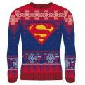 DC SUPERMAN - KNITTED JUMPER - LOGO TRUTH S