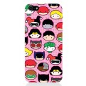 DCHIBI04 - COVER IPHONE 5 DC SUPERHERO'S FACES OPACA