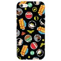 DCHIBI05 - COVER IPHONE 6-6S DC SUPERHERO'S MEDALS OPACA