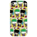 DCHIBI08 - COVER IPHONE 6-6S BATMAN AND JOKER SPLASH OPACA