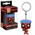 DEADPOOL - POP FUNKO VINYL KEYCHAIN BATHTIME DEADPOOL 4CM