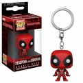 DEADPOOL - POP FUNKO VINYL KEYCHAIN DEADPOOL WITH SWORDS 4CM
