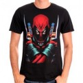DEADPOOL - TS009 - T-SHIRT DEADPOOL WARNING L