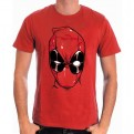 DEADPOOL - TS054 - T-SHIRT DEADPOOL HEAD M