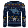 DISNEY - KNITTED JUMPER - GENIE CHRISTMAS WISHES L