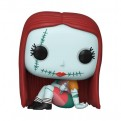 DISNEY - NIGHTMARE BEFORE CHRISTMAS - POP FUNKO VINYL FIGURE 806 SALLY SEWING 9CM