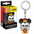 DISNEY: MICKEY'S 90TH ANNIVERSARY - POP FUNKO VINYL KEYCHAIN BAND CONCERT MICKEY 4CM