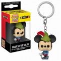 DISNEY: MICKEY'S 90TH ANNIVERSARY - POP FUNKO VINYL KEYCHAIN BRAVE LITTLE TAILOR 4CM