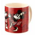 DISNEY CLASSIC: MICKEY'S 90TH ANNIVERSARY - TAZZA 590ML MICKEY & MINNIE COMICS
