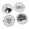 DISNEY NIGHTMARE BEFORE CHRISTMAS - SERVIZIO DI PIATTI WE ARE SIMPLY (4PZ)