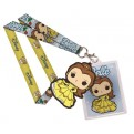 DISNEY PRINCESS - POP LANYARDS - BELLE