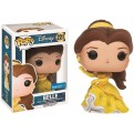 DISNEY'S BEAUTY AND THE BEAST - POP FUNKO VINYL FIGURE 221 BELLE SPARKLE BALLGOWN 9CM