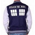 DOCTOR WHO - TD010 - BASEBALL VARSITY JACKET TARDIS XL