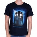 DOCTOR WHO - TS002 - T-SHIRT TARDIS IN SPACE L