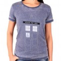 DOCTOR WHO - TS012 - T-SHIRT DONNA TARDIS DOOR XL