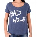 DOCTOR WHO - TS013 - T-SHIRT DONNA BAD WOLF L