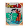 DRAGON BALL - GLASS POSTER (30X40CM) - GOKU VS FREEZER