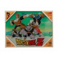 DRAGON BALL  Z - GLASS POSTER (40X30CM) - SPECIAL FORCES