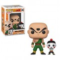 DRAGON BALL Z - POP FUNKO VINYL FIGURE 384 TIEN AND CHIATZU 9CM