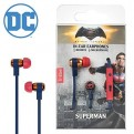 EPW13301 - DC COMICS - AURICOLARI CON MICROFONO - DC MOVIE SUPERMAN