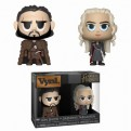 GAME OF THRONES - FUNKO VYNL 2PACK JON SNOW & DAENERYS TARGARYEN 10CM